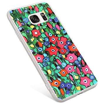 Uposao Funda Samsung Galaxy S7 Carcasa Scrub Transparente ...