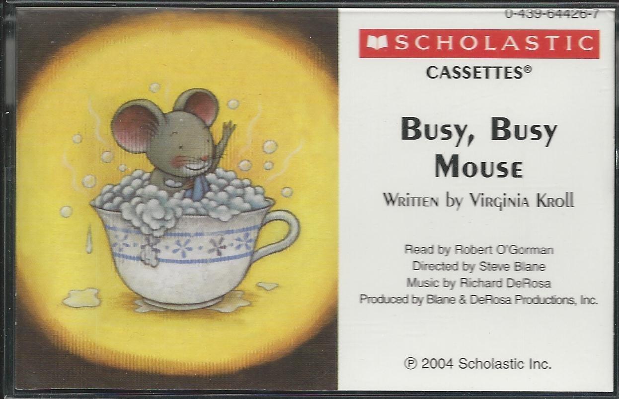 Busy, Busy Mouse: Virginia Kroll, Fumi Kosaka: 9780439644266: Amazon.com:  Books