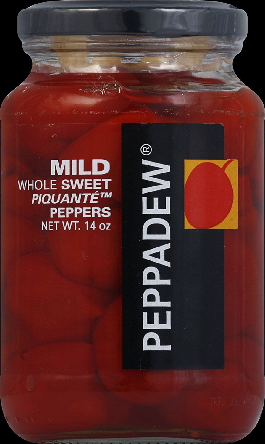 Peppadew Mild Whole Sweet Piquante Peppers, 14-Ounce Glass Jars (Pack of 6) by PEPPADEW (Image #1)
