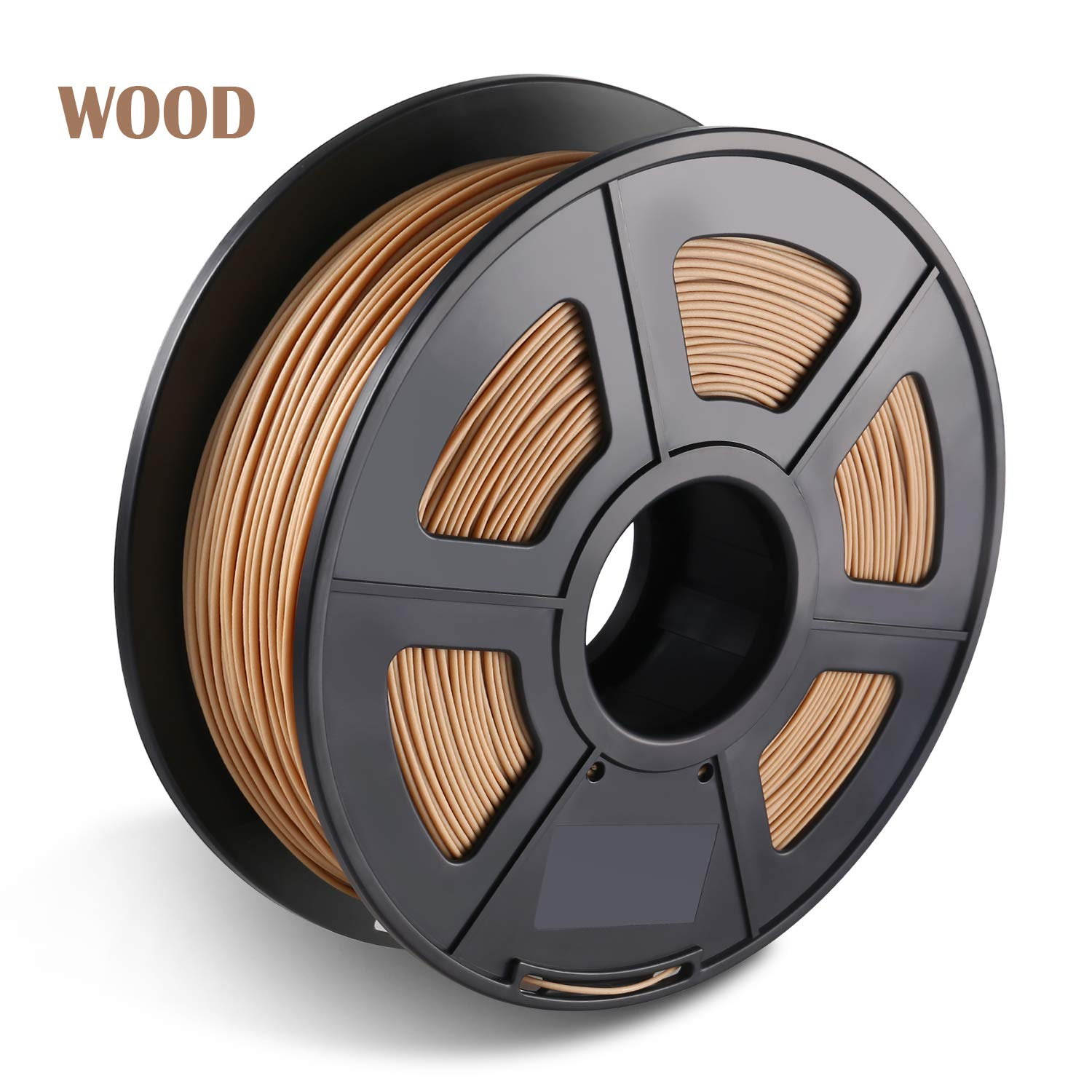 3d Drucker Filament WOOD 1.75mm, Makeasy Wood Filament 1.75mm, 3D Drucken Filament WOOD fü r 3D Drucker und 3D Stift, 1kg 1 Spool