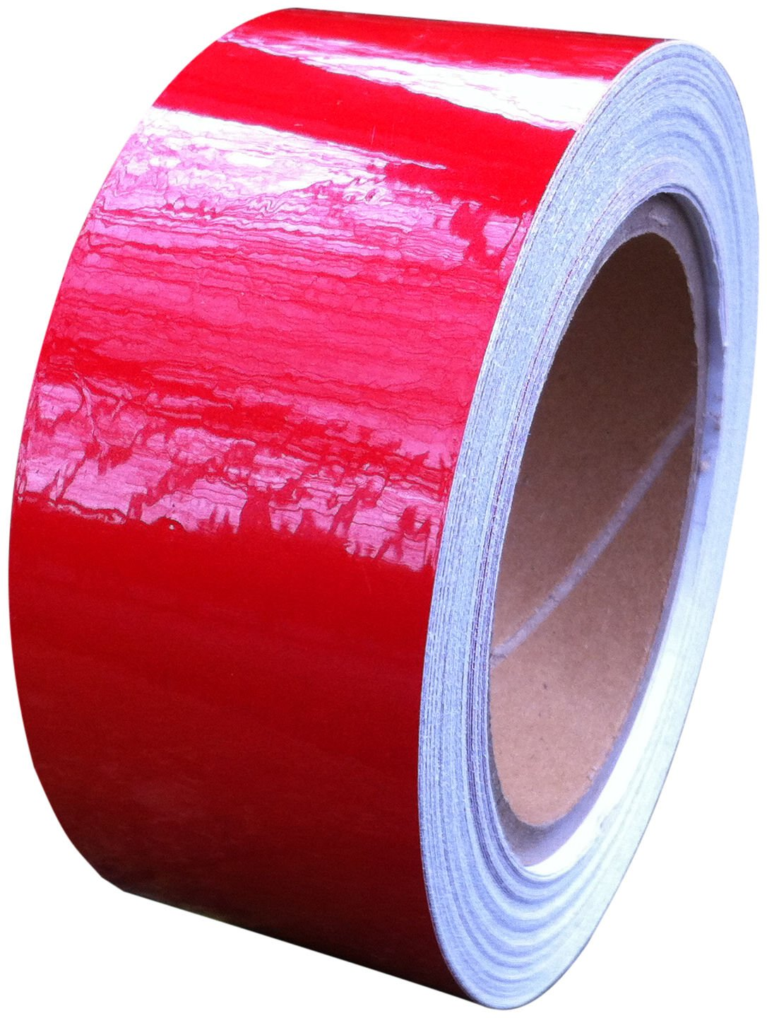 Cinta reflectante roja, 50  mm x 10  m  –   resistente al agua fuerte Direct Products