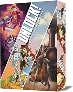 Space Cowboys- Unlock Secret Adventures - españoñ (Asmodee SCUN0004): Amazon.es: Juguetes y juegos