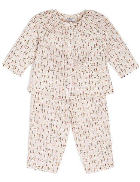 Bout Chou – Pijama Cadena y Trama – bebé niña Off White ...