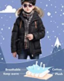 FARVALUE Boy Winter Coat Warm Quilted Puffer Parka