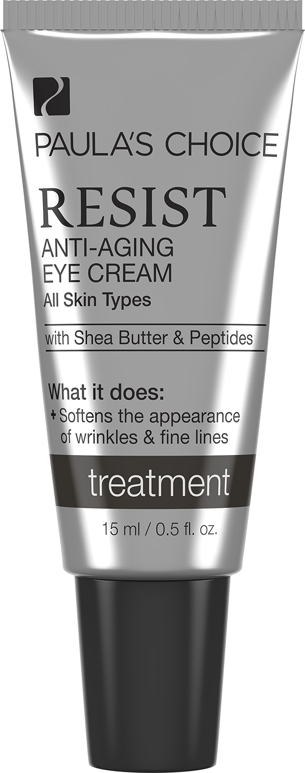 Paula's Choice RESIST-Anti-Aging Eye Cream w/Shea Butter & Peptides, 0.5 oz Tube Face Cream for Fine Lines & Wrinkles Around the Eye