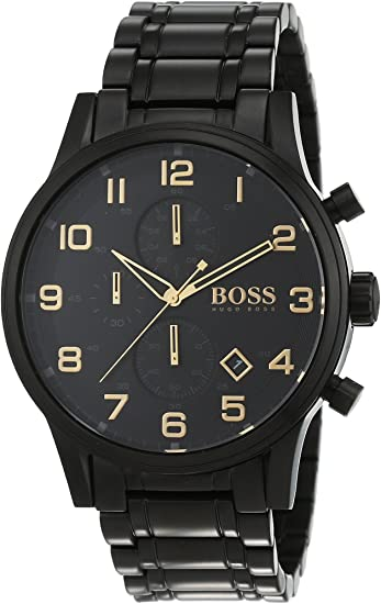 hugo boss black and gold