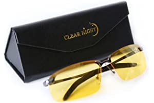 e5c7cbad4d5 Amazon.com   BLUPOND Night Driving Glasses - Semi Polarized Yellow ...