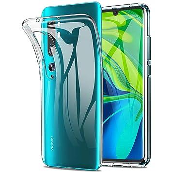 Yocktec Funda para Xiaomi Mi Note 10/CC9 Pro, Funda Carcasa de Gel Ultrafina y Suave de TPU [Resistente a rayones] [Absorción de Choque] para ...
