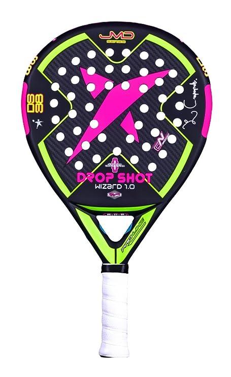 DROP SHOT Wizard 2.0 Pala de Pádel, Unisex Adulto, Negro, 360-385 gr: Amazon.es: Deportes y aire libre