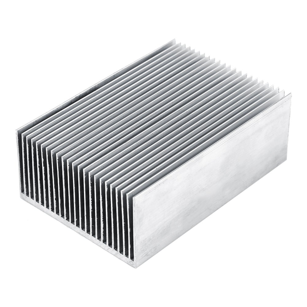 1 Set Aluminum Heat Sink Cooling Fin Cooler For Led Amplifier Transistor IC Module Or Computer,100(L)x 69(W) x 36 mm(H) by Hilitand (Image #1)