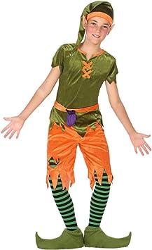 Atosa-56913 Disfraz Duende, Color Verde, 5 a 6 años (56913 ...