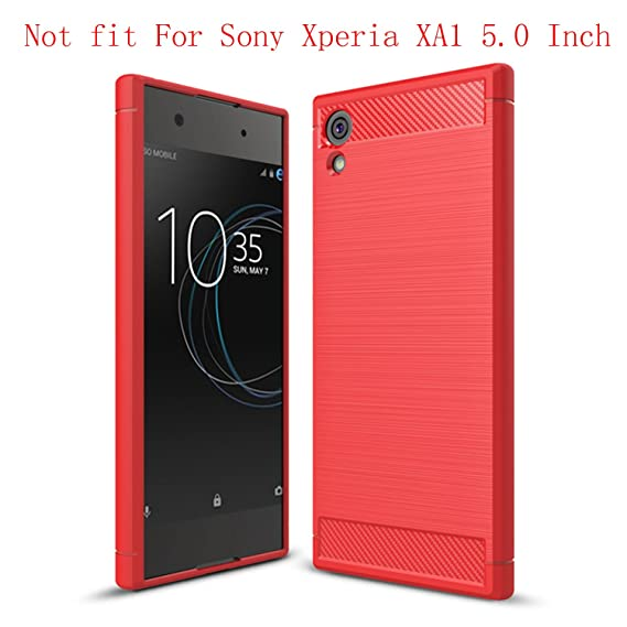 new concept 8c274 0c825 Sony Xperia XA1 Ultra Case,(Not fit For Sony Xperia XA1 5 Inch) Sucnakp TPU  Shock Absorption Technology Raised Bezels Protective Case Cover for Sony ...