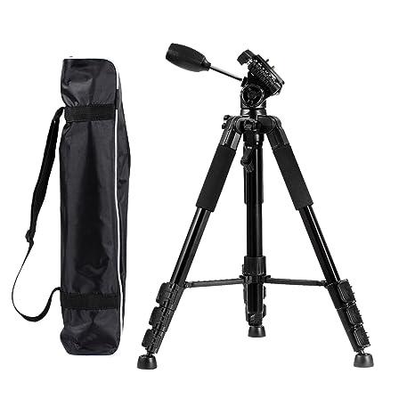 voilamart cámara monopié trípode de viaje con rótula, bolsa de ...