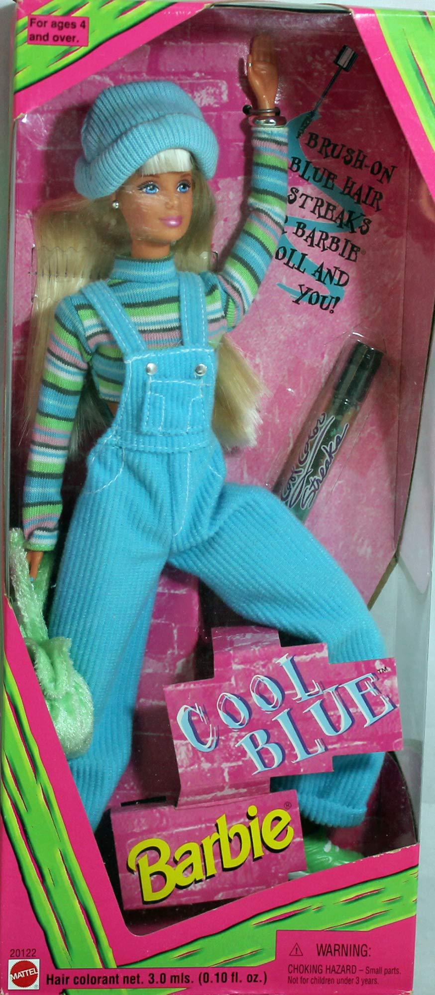 1997 Cool Blue Barbie Doll
