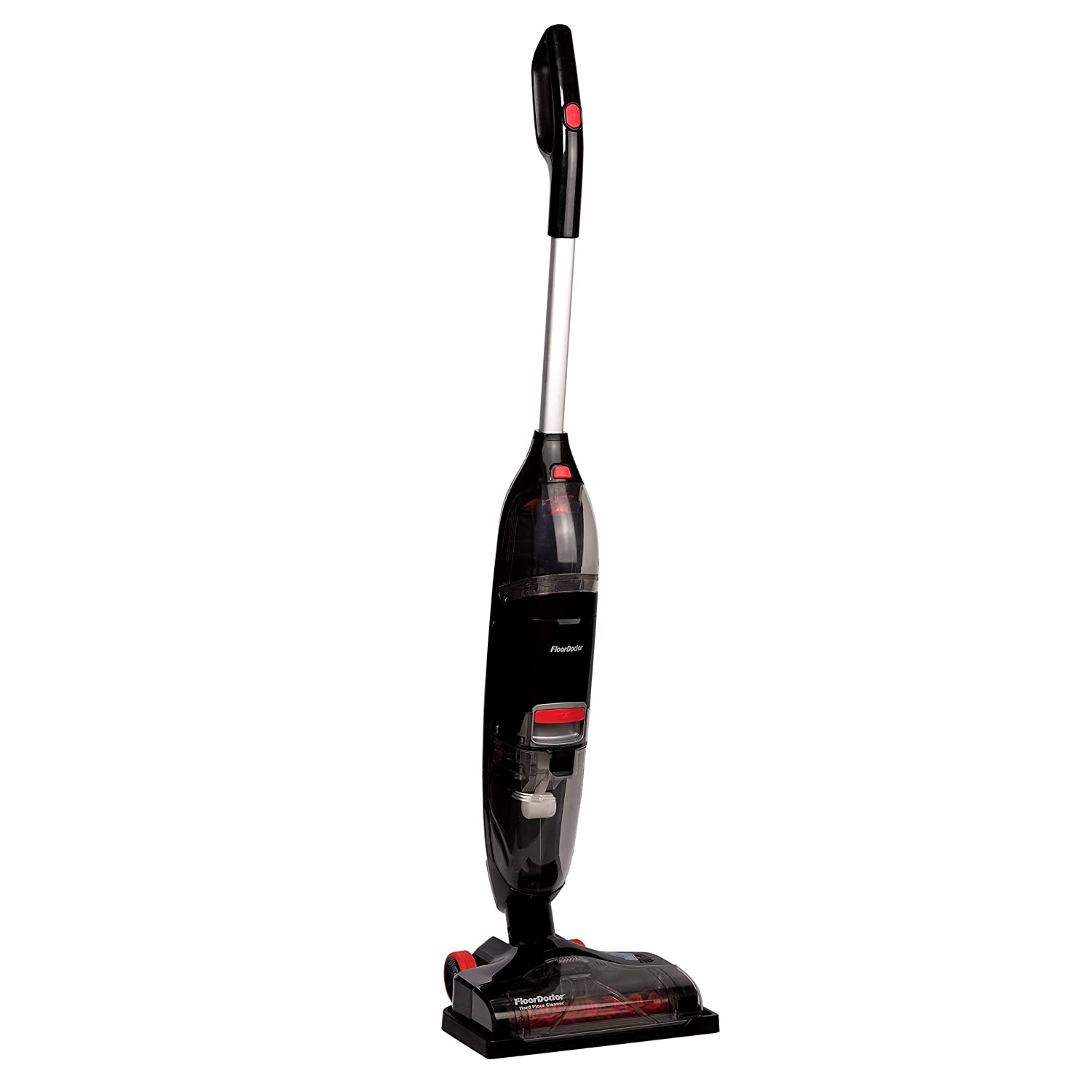Floor Doctor Cleaner by Rug Doctor, Cordless Charging Dock, Tank Technology, Dual Modes, Extracts Spills and Stains, Polishes and Cleans Sealed Hard Floors Makes Perfect, Gray