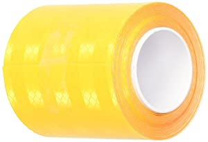 3M 3431 Yellow Micro Prismatic Sheeting Reflective Tape – 0.5 in. x 15 ft. Non Metalized Adhesive Tape Roll. Safety Tape