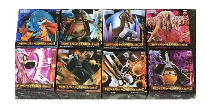 ワンピース スーパーエフェクト七武海フィギュア vol.1 vol. 2 全8種 B071P3F8WS