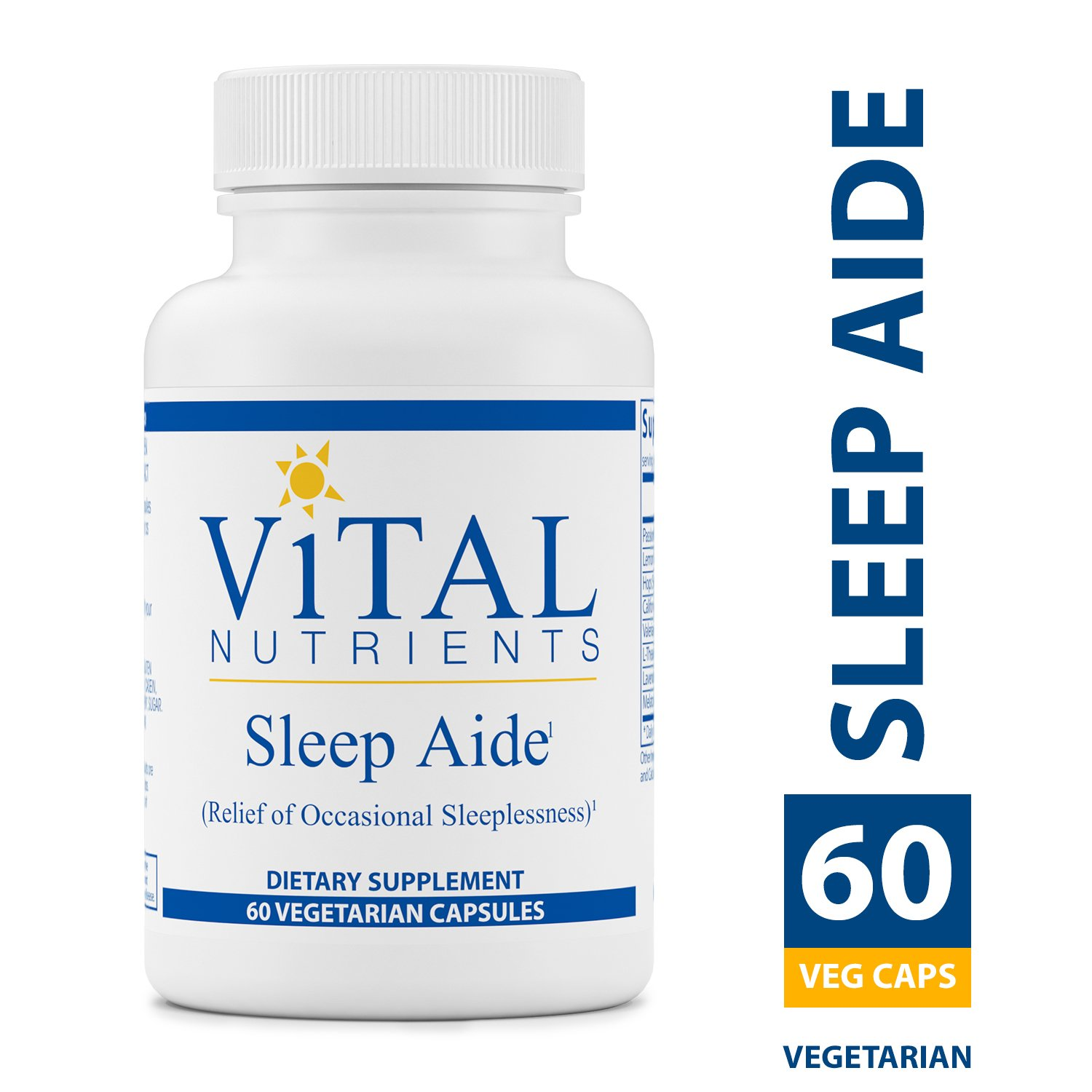 Vital Nutrients Sleep Aide -- 60 Capsules