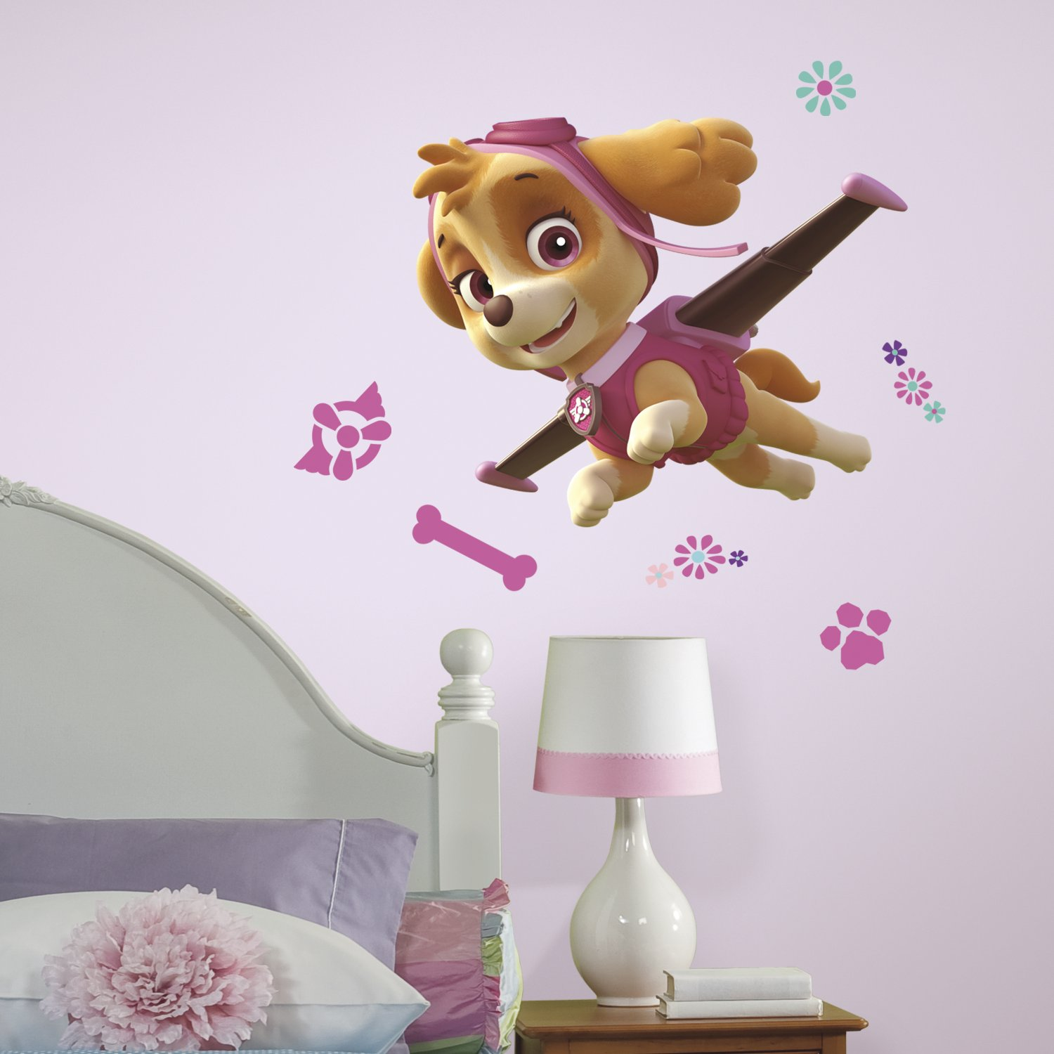 RoomMates RMK3123GM Paw Patrol Skye Peel And Stick Giant Wall Decals      Amazon.com Part 46