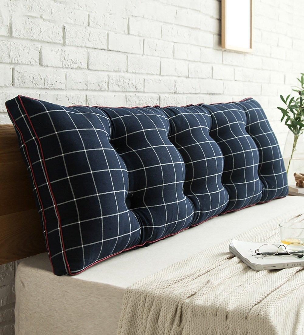 LIQICAI Coussin Coton Coussin de tête de lit grande taille Remplissage de coton PP pour Unique - Double taille -