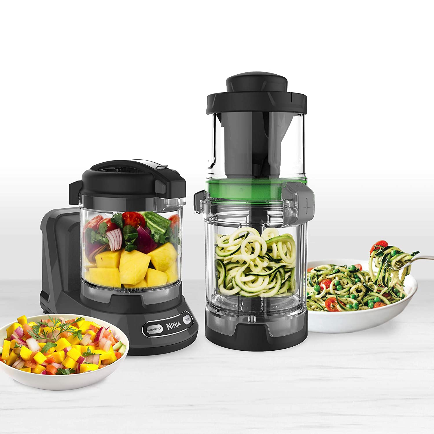 Ninja Precision Food Processor with Auto-Spiralizer 400W BPA-free - NN310A