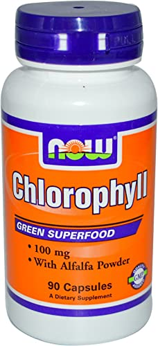 NOW Foods Chlorophyll – 100 mg – 90 Capsules