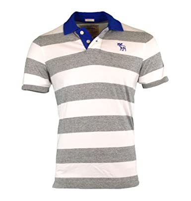Polo Shirt Muscle Top Courte Homme Striped Fit Abercrombie reWCQxodB