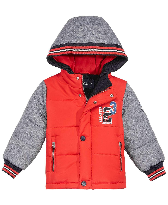 London Fog Little Boy's Warm Puffer Jacket (3T) by London Fog
