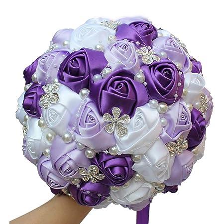 Amulti Wedding Bouquetsbridesmaid Bridal Bouquet For Wedding