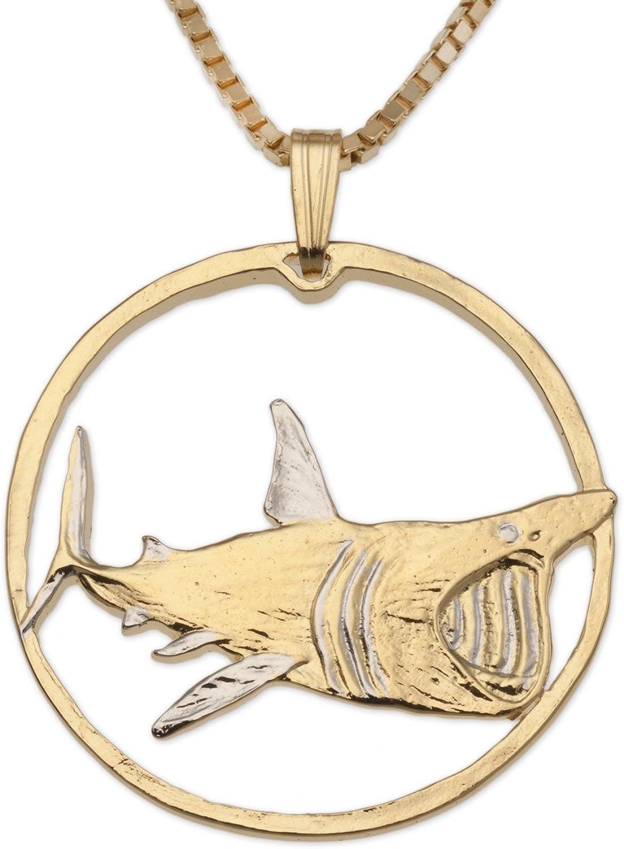 """Great White Shark pendant, Great White Shark Jewelry, 1 1/4"""", (# 938)"""