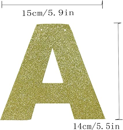 Hatcher lee Sixty & Fabulous Banner Gold Glitter for Wedding Anniversary 60th Birthday 60 Years Old Party Decoration Sign Ideas