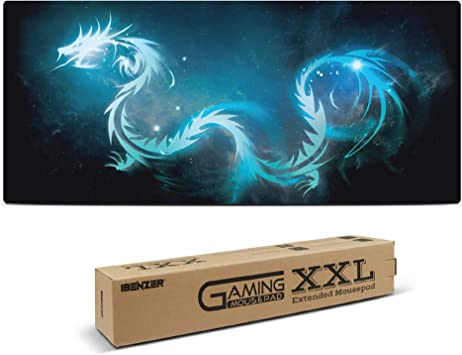 KINPLE XXL Extended Large Gaming Mouse Pad Non-Slip Water-Resistant Rubber Cl...