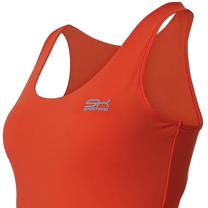 SPORTKIND Débardeur de Tennis Fitness Running pour Filles et Femmes   Amazon.fr  Sports et Loisirs 650ea7538d8