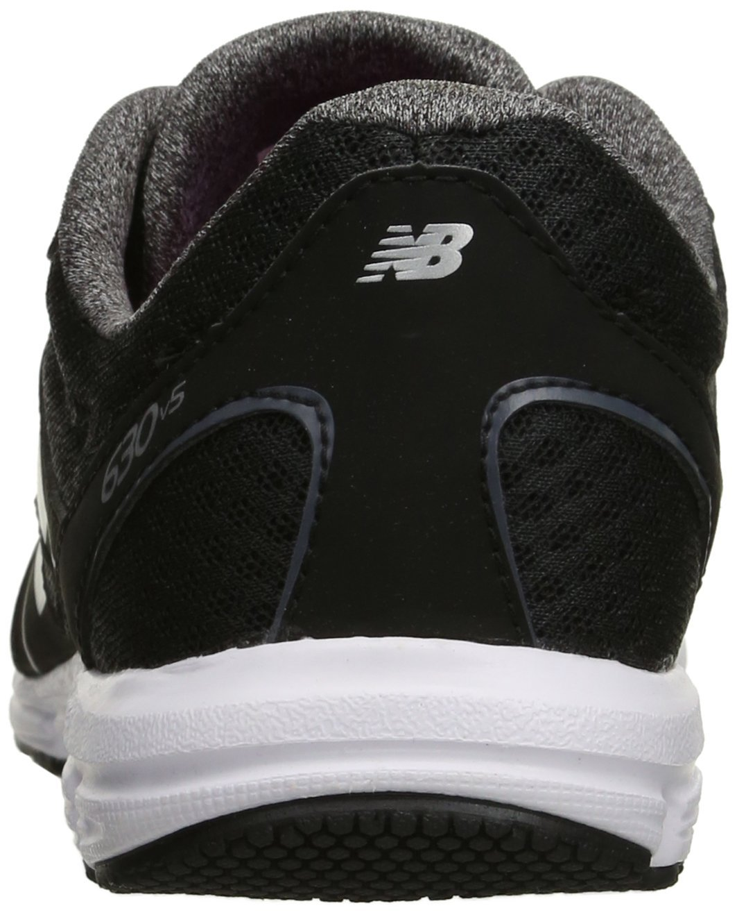 New Balance Women's 630v5 Flex Ride Running Shoe B0163GIYRA 6 D US|Black/Grey