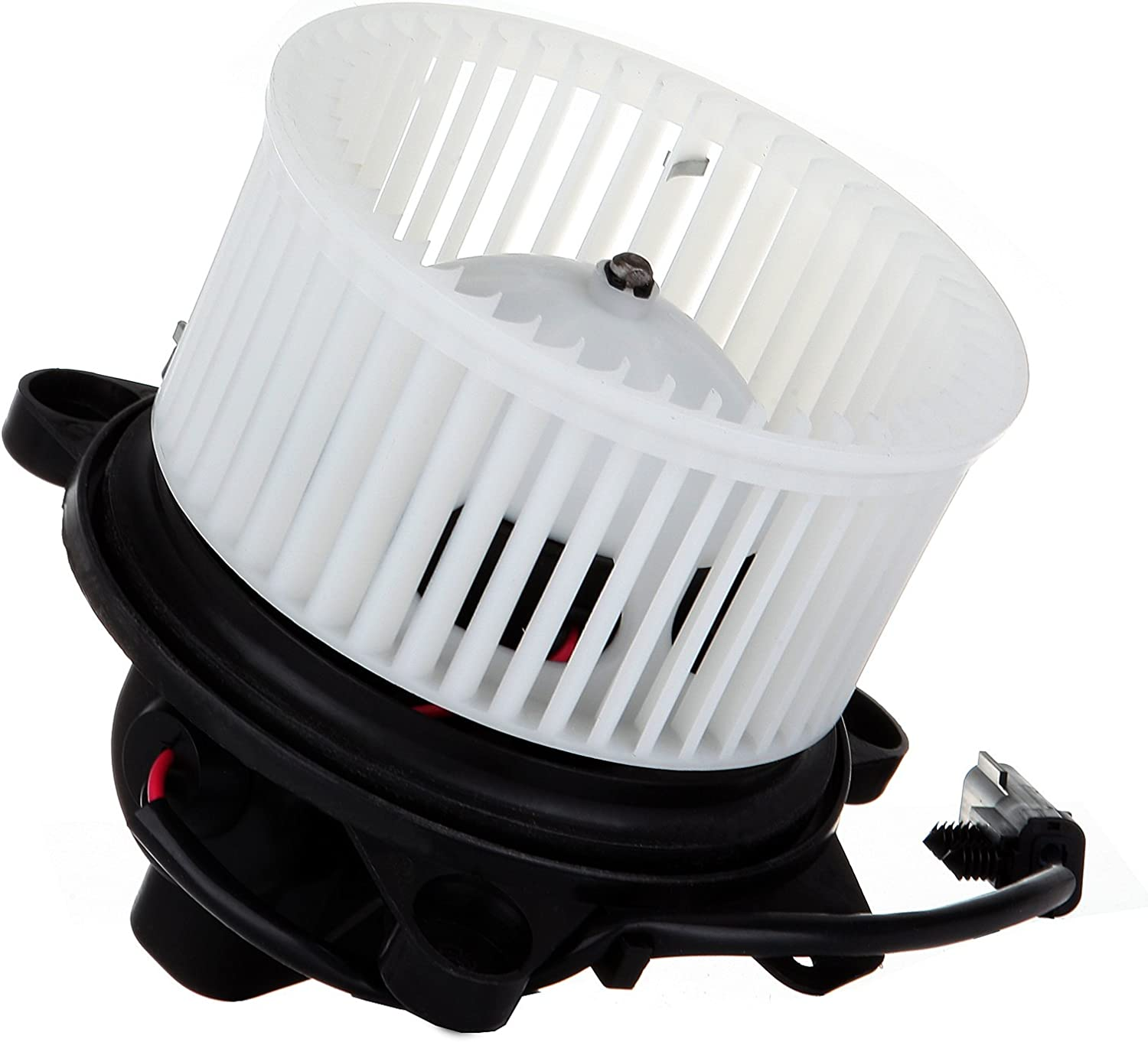 OCPTY A/C Heater Blower Motor ABS w/Fan Cage Air Conditioning HVAC Replacement fit for 2001-2004 Dodge Dakota/2001-2003 Dodge Durango