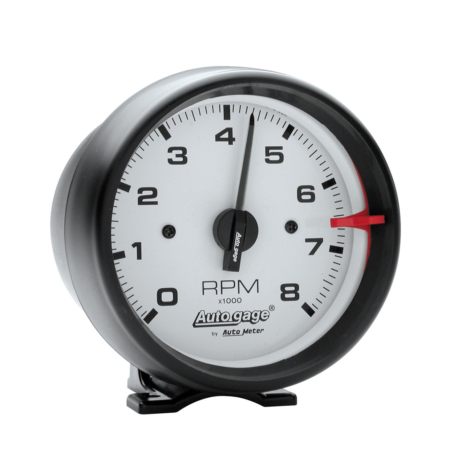 Auto Meter 2303 Autogage White Face Tachometer by AUTO METER