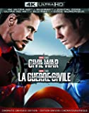 Captain America: Civil War (4K Ultra HD + Blu-ray + Digital) (Bilingual)