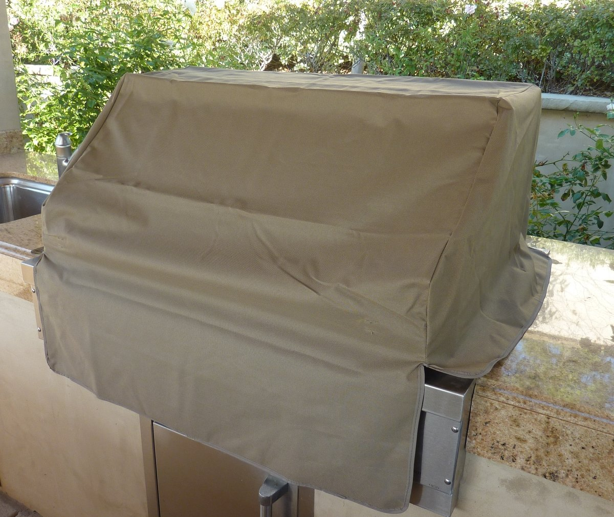 BBQ built-in grill cover
