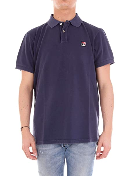 Fila Polo Uomo 3920050802Blue Cotone Blu: Amazon.it ...