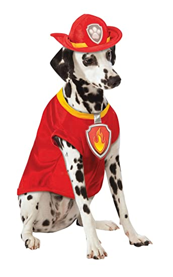Paw Patrol Marshall Dog Costume  sc 1 st  Amazon.com & Amazon.com : Paw Patrol Marshall Dog Costume : Pet Supplies