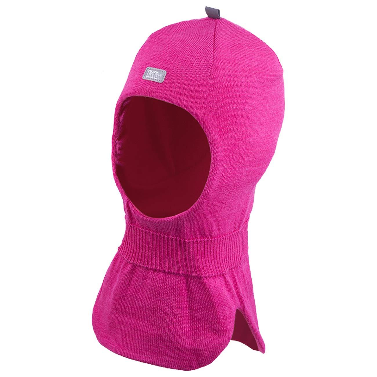Galeja TuTu Kinder Schlupfmütze Mädchenmütze Winter Mütze Baumwollfutter mit Stirnschutz + Ohren Membran 3-004279