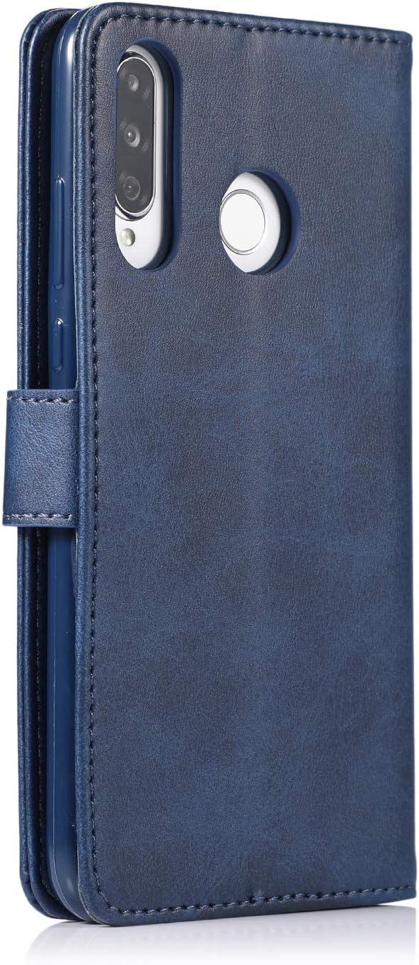 H/ülle Handyh/ülle Leder Klapph/ülle Handytasche Flip Brieftasche Schutzh/ülle Magnet Wallet Case Tasche Lederh/ülle f/ür Huawei P30,Braun CTIUYA Schutzh/ülle f/ür Huawei P30