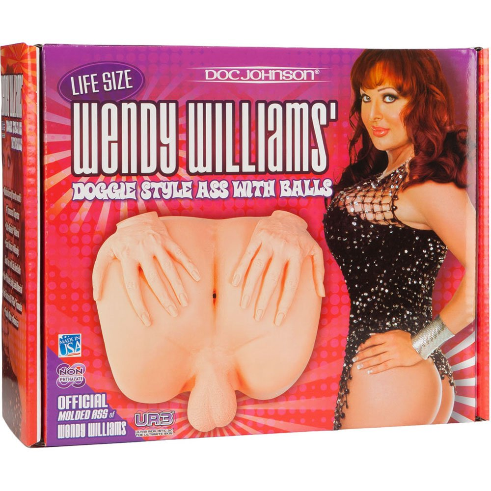 Doc Johnson Wendy Williams Ass and Balls by Doc Johnson