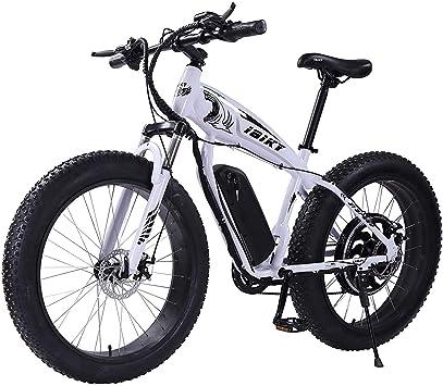 Bicicleta eléctrica de montaña HR de 26 pulgadas, neumáticos de ...