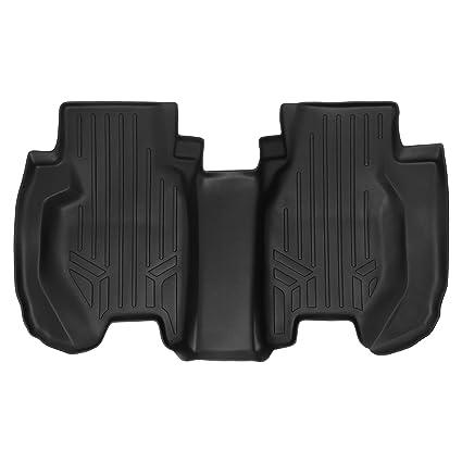 SMARTLINER Floor Mats 2nd Row Liner Black For 2015 2019 Honda Fit