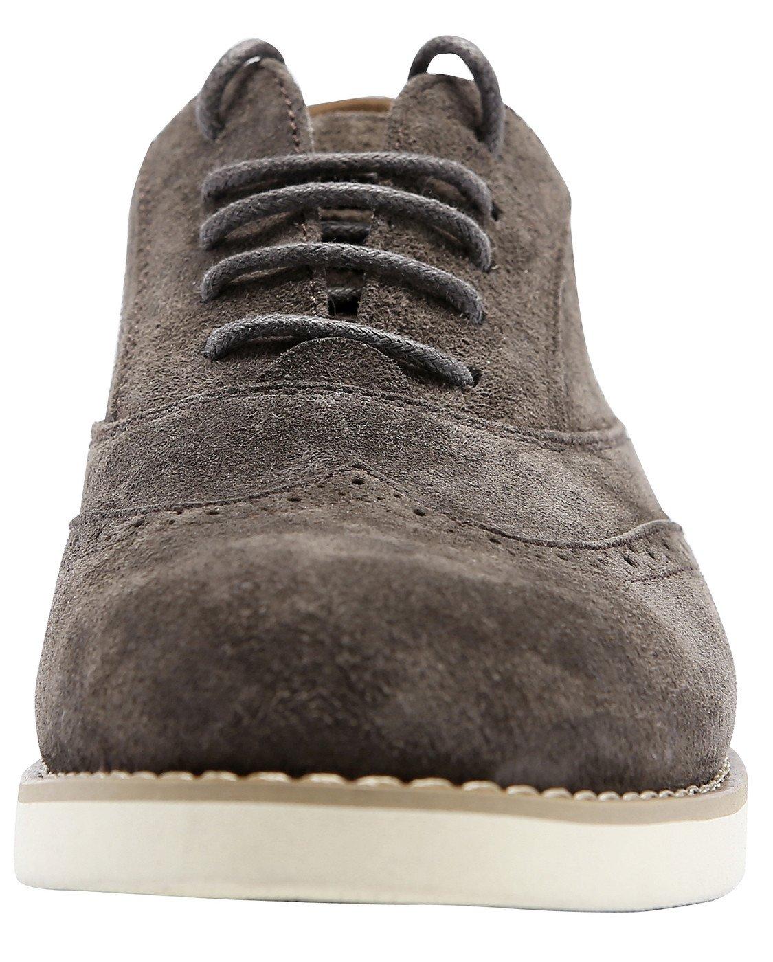 1eb4076b40d8 SimpleC Zapatos Para de Cuero Ocasionales con Cordones Para Mujer Marron  Comfort, Ligeros Zapatos Deportivos de Color LISO Ocasionales Marron Oscuro  28ce097