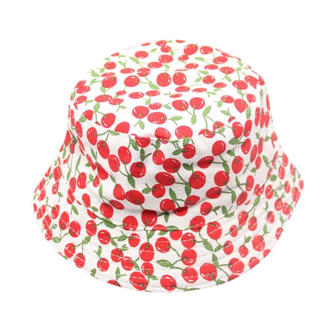 SHOBDW Girls Hats, Toddler Kids Sun Hats Baby Boys Girls Fashion Floral Camouflage Pattern Bucket Helmet Child Fisherman Cap Gifts Army Green) SHOBDW-044