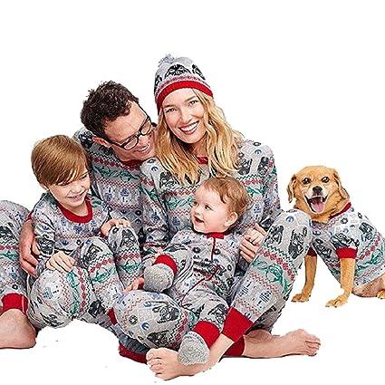 super popolare 4aa8b 02574 Internet- Set di pigiami coordinati natalizi per famiglia ...