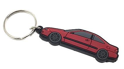 Amazon Com G S Auto Parts 92 95 Honda Civic Eg Key Chains Red
