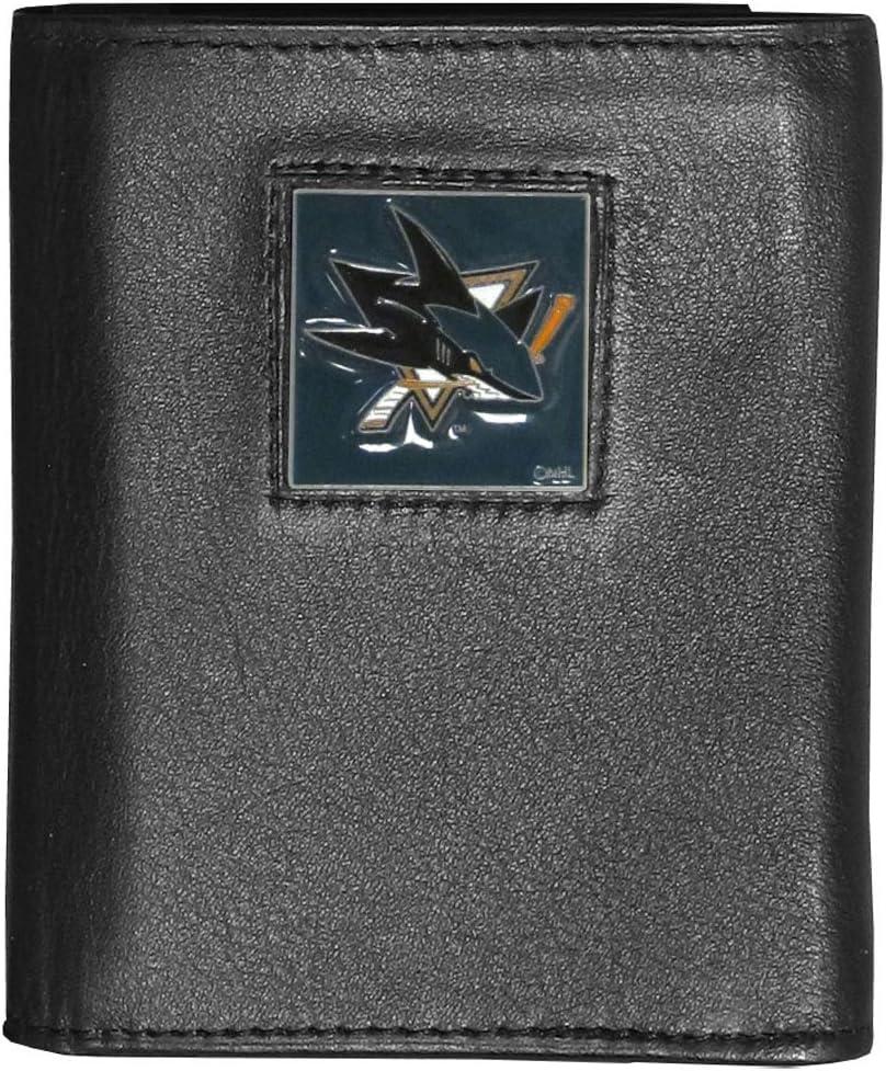 Siskiyou San Jose Sharks Leather Trifold Wallet
